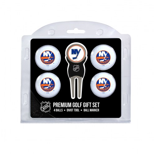 New York Islanders Golf Ball Gift Set