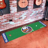 New York Islanders Golf Putting Green Mat
