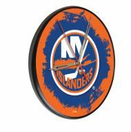 New York Islanders Digitally Printed Wood Clock