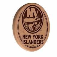 New York Islanders Laser Engraved Wood Sign