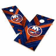 New York Islanders Herringbone Cornhole Game Set