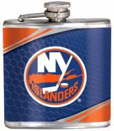 New York Islanders Hi-Def Stainless Steel Flask