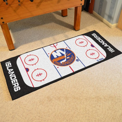 New York Islanders Hockey Rink Runner Mat