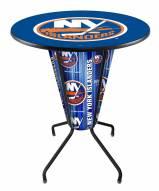 New York Islanders Indoor Lighted Pub Table