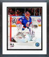 New York Islanders Jaroslav Halak Action Framed Photo