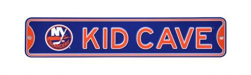 New York Islanders Kid Cave Street Sign