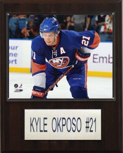 "New York Islanders Kyle Okposo 12"" x 15"" Player Plaque"
