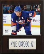 "New York Islanders Kyle Okposo 12"" x 15"" Player Plaque"