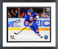 New York Islanders Kyle Okposo Action Framed Photo