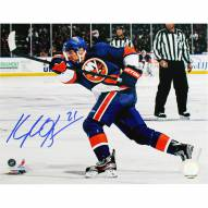 "New York Islanders Kyle Okposo Signed 16"" x 20"" Photo"