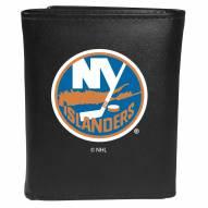 New York Islanders Large Logo Leather Tri-fold Wallet