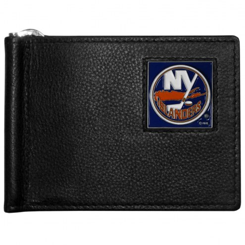 New York Islanders Leather Bill Clip Wallet