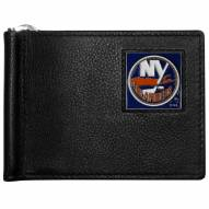 New York Islanders Leather Bill Clip Wallet