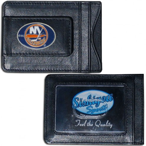 New York Islanders Leather Cash & Cardholder