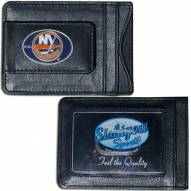 New York Islanders Leather Cash & Cardholder