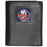 New York Islanders Leather Tri-fold Wallet