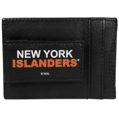 New York Islanders Logo Leather Cash and Cardholder