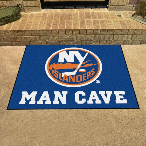 New York Islanders Man Cave All-Star Rug