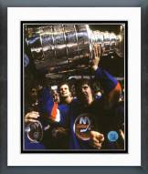 New York Islanders Mike Bossy 1982 Stanley Cup Finals Framed Photo