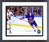 New York Islanders Mike Bossy 1986-87 Action Framed Photo