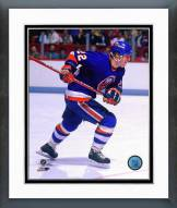 New York Islanders Mike Bossy Action Framed Photo