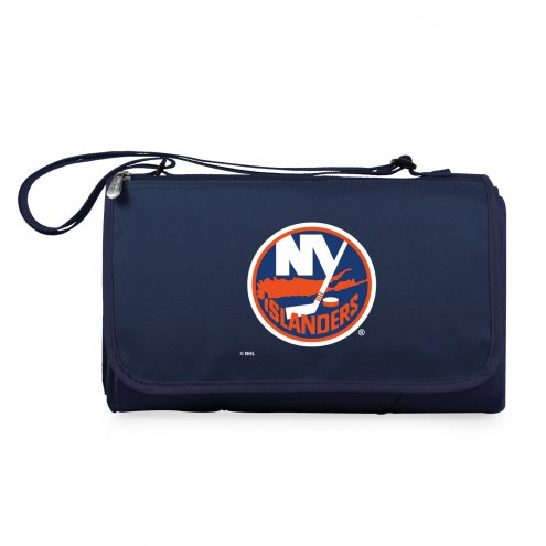 New York Islanders Navy Blanket Tote