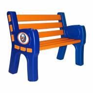New York Islanders Park Bench
