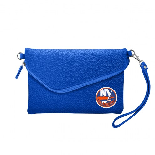 New York Islanders Pebble Fold Over Purse
