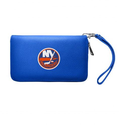 New York Islanders Pebble Organizer Wallet