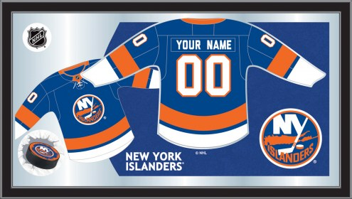 New York Islanders Personalized Jersey Mirror