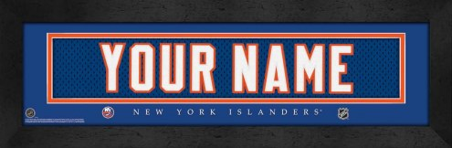 New York Islanders Personalized Stitched Jersey Print