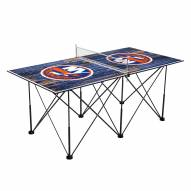 New York Islanders Pop Up 6' Ping Pong Table