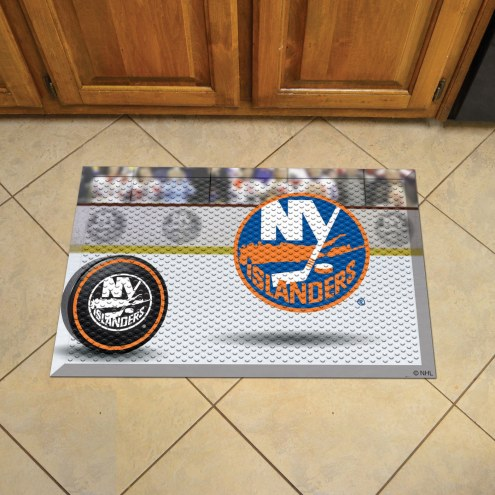 New York Islanders Scraper Door Mat