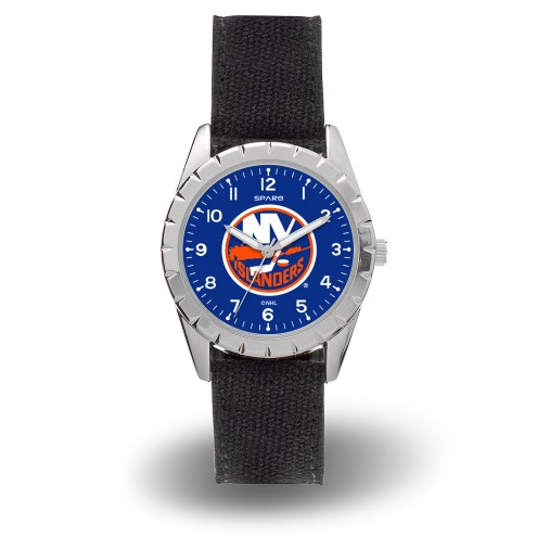 New York Islanders Sparo Men's Nickel Watch