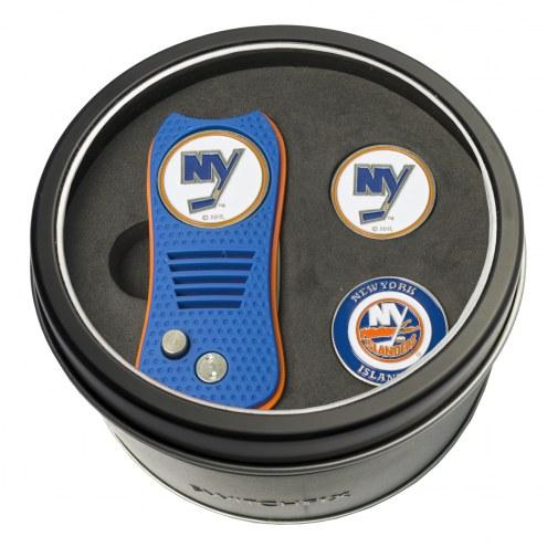 New York Islanders Switchfix Golf Divot Tool & Ball Markers