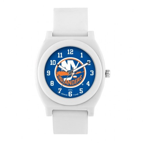 New York Islanders Unisex Fan White Watch