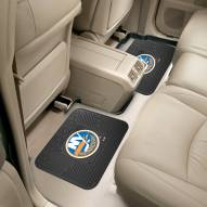 New York Islanders Vinyl 2-Piece Rear Floor Mats