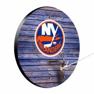 New York Islanders Weathered Design Hook & Ring Game