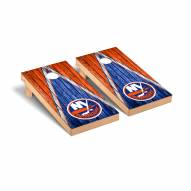 New York Islanders Weathered Triangle Cornhole Game Set