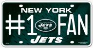 New York Jets #1 Fan License Plate