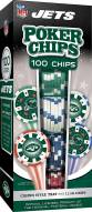 New York Jets 100 Piece Poker Chips