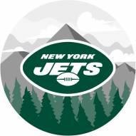 "New York Jets 12"" Landscape Circle Sign"