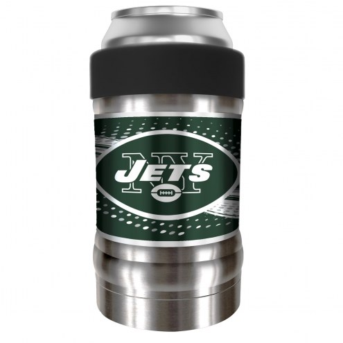 New York Jets 12 oz. Locker Vacuum Insulated Can Holder