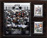 "New York Jets 12"" x 15"" Team Plaque"