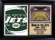 "New York Jets 12"" x 18"" Photo Stat Frame"