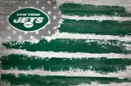 "New York Jets 17"" x 26"" Flag Sign"