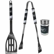 New York Jets 2 Piece BBQ Set with Season Shaker