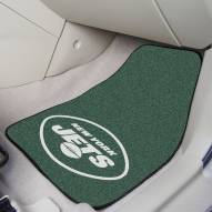 New York Jets 2-Piece Carpet Car Mats