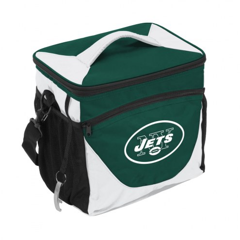 New York Jets 24 Can Cooler