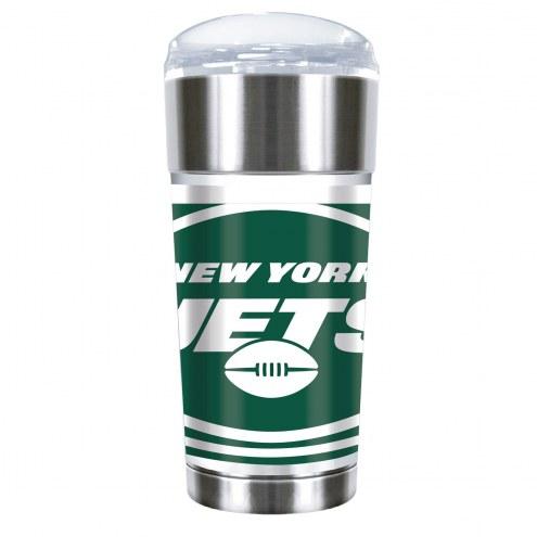 New York Jets 24 oz. Eagle Travel Tumbler